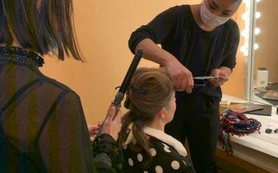 Intervention de nos apprenti(e)s coiffure et esthétique à la Maison de la Musique de Nanterre