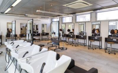 Rénovation des salons de pratique coiffure