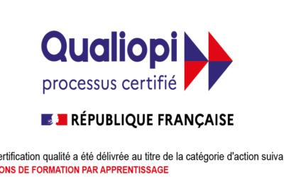 L'IFPM est certifié Qualiopi !